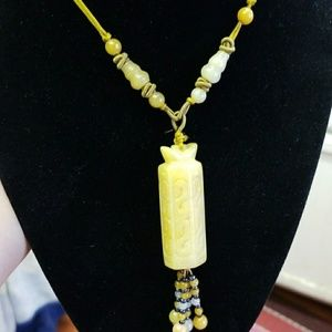 Jewelry - Fengshui Necklace  w/ Wu Lu Design